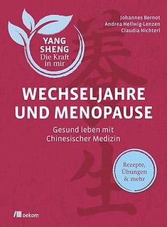 Buchcover Wechseljahre und Menopause mit Chinesischer Medizin
