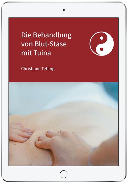 Titelbild Artikel - Die Behandlung von Blutstase mit Tuina